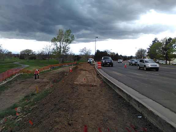 Installation of Kennedy Golf Course sidewalk image 2