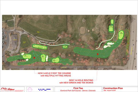 First Tee golf course design