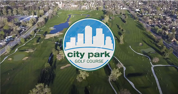 City Park Golf Course logo and banner