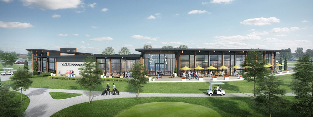 City Park Golf Course 2019 Clubhouse Rendering #1