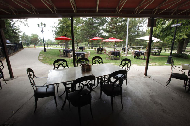 View of wellshire pub patio